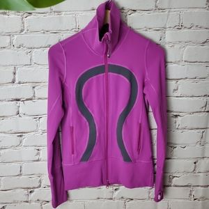 Lululemon Stride Jacket Violaceous Purple Coal